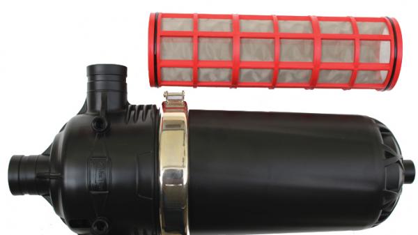 T型90°卡口网式过滤器