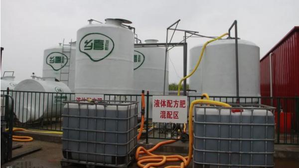 中国第一家建在田间地头的液体配肥站竟在这里!