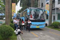 华南农业大学大一新生到东莞一翔参观学习