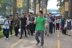 广东食品药品职业学院大三学子到东莞一翔参观学习
