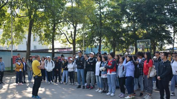 熱烈歡迎華農資環學院新生到東莞一翔參觀學習
